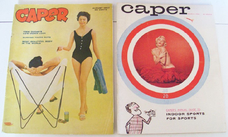 1950s Caper Cheesecake Men's Magazines - Volumes 1 & 2